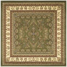 Safavieh Lyndhurst Collection Sage/ Ivory Rug (8' Square) - Overstock™ Shopping - Great Deals on Safavieh Round/Oval/Square