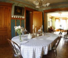 interior of a old victorian house