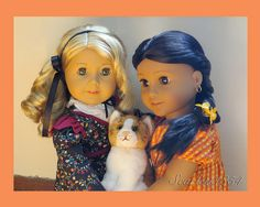 Almost too sweet to behold ; Annie, Fi, and Pumpkin by scarlett1854, via Flickr