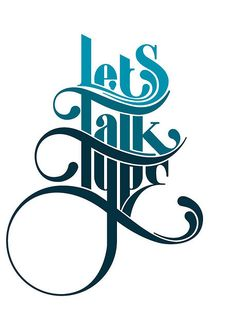 Type Talk #GraphicDesign, #Typography, #Photography #Logo