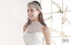 KEAS   Bohemian Wedding Dress   2015 Cala Collection   by Sara Villaverde   Villais
