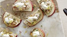 Smoked Trout with Apple and Crème Fraîche - Recipe - FineCooking