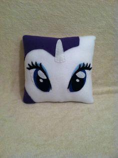 Rarity Plush Pillow, My Little Pony Pillow, Pony Bedroom Decor My Little Pony Bedroom, My Little Pony Craft, My Lil Pony, Cute Pillows, Throw Pillows, Plush Pillow, Felt Decorations, Best Pillow, Cute Unicorn
