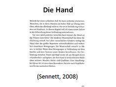 Sennetts Hand