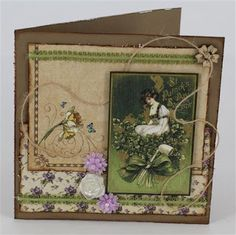 Card by Annette Edmonds using Graphic 45 A Place in time www.craftqueen.com.au