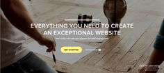 Homepage Banner from Squarespace