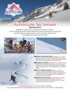 Come ski with us this winter!