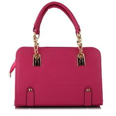 Sweet Candy Color and Chain Design Women's Tote Bag Rose Online, Cheap Shoes, Office Outfits, Candy Colors, Womens Tote Bags, Fashion Bags, Purses And Bags, Vintage Fashion, Shoulder Bag