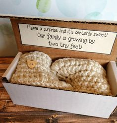 Pregnancy Announcement Ideas Pregnancy Announcement to