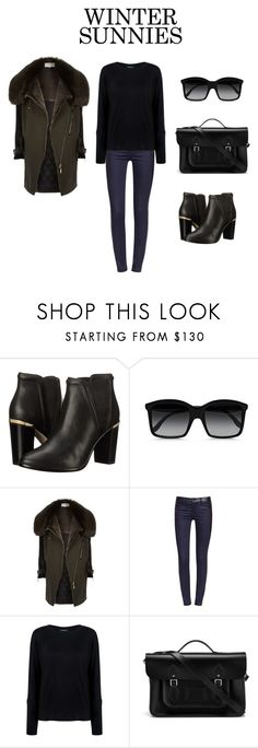 """#wintersunnies"" by definingmyworld on Polyvore featuring Ted Baker, STELLA McCARTNEY, River Island, Tory Burch, Pink Tartan, The Cambridge Satchel Company and wintersunnies"
