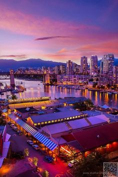 49. #Vancouver, Canada - Here Are the 50 #Cities to Visit before You Die ... → #Travel #Janeiro