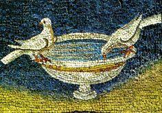 Grandi Mausolei in Italia. Galla Placidia a Ravenna. Mosaico