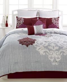 1d11b5d85e3 Hallmart Collectibles Ravenna 8-Pc. Full Comforter Set Bedroom Comforter  Sets