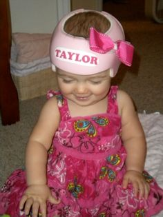 Plagiocephaly helmet decor on pinterest baby helmet for Baby cranial helmet decoration