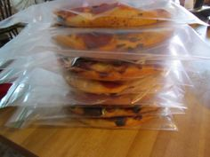 homemade individual frozen pizza | And here they are stacked in the freezer, right on top of a Tony's ...