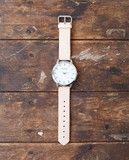 We are very excited to bring in Cold Picnic's natural leather watches! The stainless steel back body with Japan made...