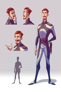 Heroes of the Universe _Char 2 by LifelessMech.deviantart.com on @DeviantArt