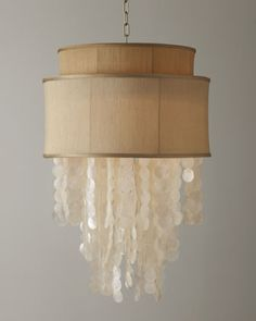 Dripping Shell Chandelier at Horchow.