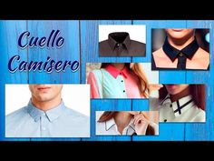 Cómo hacer el Patrón o Molde del Cuello Camisero Paso a Paso - YouTube Sewing Collars, Couture, Baseball Cards, Hani, Sports, Tela, Sewing Patterns Free, Blouse Patterns, Fashion For Girls