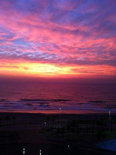The Beautiful Durban Sun Rise