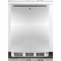 Affordable  Summit ALB651LX ADA Compliant Compact Refrigerator with Adjustable Wire Shelves, Adjustable