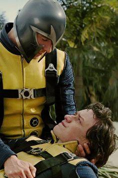 Erik Lensherr {Magneto} & Charles Xavier {Professor X}