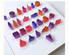 """Résultat de recherche d'images pour """"quilled shapes"""""""
