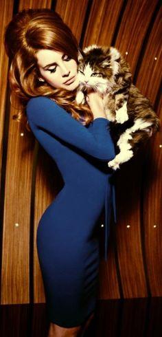 Lana Del Rey ♥ I got my hair big beauty Queen style.