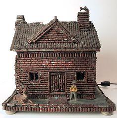 Bullet Shell House Lamp, c1935