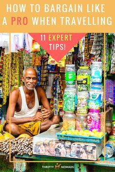 Never overpay on goods again –here's 11 expert tips to bargain like a pro! #budgettravel