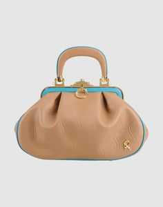 ROBERTA DI CAMERINO Women - Handbags - Medium leather bag ROBERTA DI CAMERINO on YOOX United States
