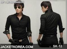 Blazer Jaket Korea SK-12 Anime Jacket, Korea Fashion, Bomber Jacket, Mens Fashion, Blazer, Sweater, Model, T Shirt, How To Wear