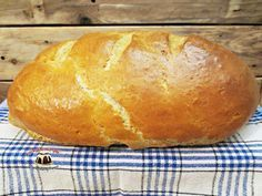 Najłatwiejszy chleb drożdżowy Bread Recipes, Cooking Recipes, Polish Recipes, Bread Rolls, Diy Food, Food And Drink, Homemade, Baking, Breads