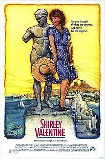 Shirley Valentine, (1989) Pauline Collins, Tom Conti, Bernard Hill (original poster)