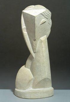 Henri Laurens - Tête de jeune fille, 1920