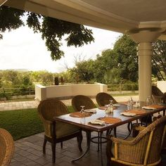 Join us for a bite at Ilala Lodge's Palm Restaurant and sample from the…