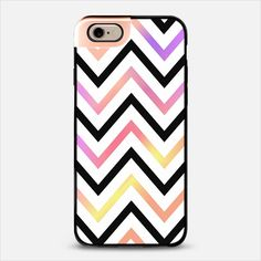 Pastel Modern Chevron iPhone 6 Metaluxe case by Organic Saturation | Casetify Get $10 off using code: 53ZPEA