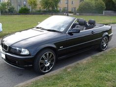 Bmw 320ci Convertible Black With BLACK LEATHER INTERIOR #RePin by AT Social… #RePin by AT Social Media Marketing - Pinterest Marketing Specialists ATSocialMedia.co.uk
