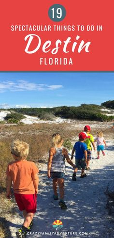 The Emerald Coast is one of our favorite places to visit. Here is our list of the 25 best things to do in Destin, Florida that everyone in the family will love! Destin Florida Vacation, Visit Florida, Florida Travel, Travel Usa, Mexico Vacation, Travel Tips, Family Vacation Destinations, Best Vacations, Travel Destinations