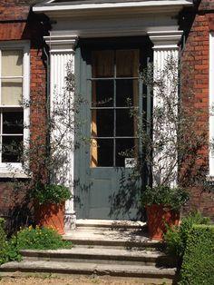 Fenton House in Hampstead, may Photo: Palle B Pedersen Fenton House, Sunken Garden, National Trust, Detached House, 17th Century, Gardening, Exterior, London, Architecture
