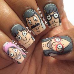 Bobs burgers/ short nails