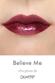 colourpop ultra glossy lip BELIEVE ME - Google Search