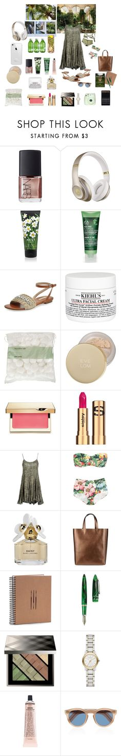 """Exotic trip"" by nathalie-puex ❤ liked on Polyvore featuring KEEP ME, NARS Cosmetics, Beats by Dr. Dre, Nest Fragrances, The Body Shop, Michael Kors, Kiehl's, John Lewis, PATH and Eve Lom"