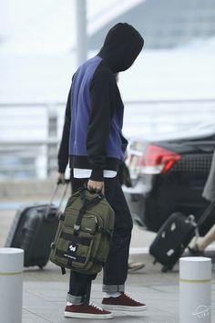 Rap Monster ❤ BTS At Incheon Airport! (170513) #BTS #방탄소년단