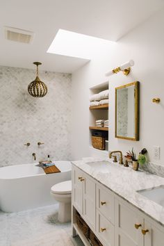 Master Bathroom Inspiration // Marble Morrocan Tiles // Marble sink