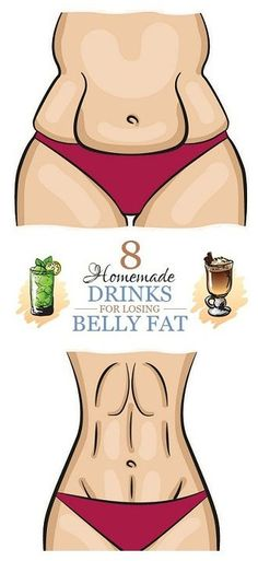 8 Homemade Drinks for Losing Belly fat burn belly fat fast drink