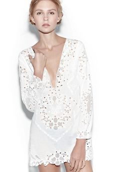 Antik Batik - Naya Mini Dress White