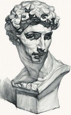 Омежник. Арт. Pencil Art Drawings, Realistic Drawings, Art Drawings Sketches, Academic Drawing, Academic Art, Human Anatomy Drawing, Anatomy Art, Volume Art, Anatomy Sketches