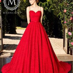 Dare to stand out with @moonlightbridal and their show stopping red gown! For the untraditional bride showcasing her personality indeed! #Moonlightbridal