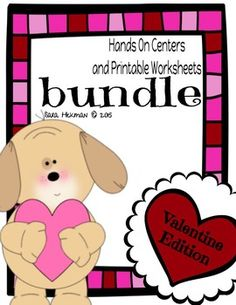 Valentine activities for literacy and math centers. Great for all of your hands on learners. Helping make learning fun one game at a time.  Literacy Centers and Hands On Activities Letter Recall Bingo (10 different boards) Glitter Bag DIrections A/a 3 Piece Flip and Find  Letter Sequence Puzzles (3) Magnetic Letter Fishing and Matching Game Starting Sounds File Folder Game Maili the Letter File Folder Game Heart Letter Sequencing  Math Centers and Hands on Activities Number Sequence ...